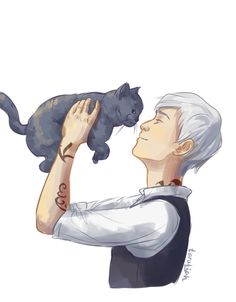 James Carstairs and Church by @taratjah on Tumblr