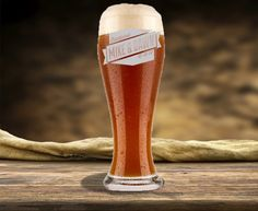 Personalized Beer Glass, Etched Pilsner Beer Glass | www.everythingetched.com