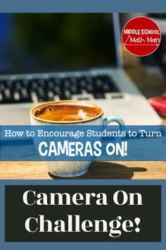Try this fun teaching idea to help encourage your students to turn their cameras on during class. Virtual teaching and virtual learning can be a challenge, but this idea can help students get those cameras on! When it comes to distance learning, this can be a useful routine to start in your classroom. Math Activities, Teaching Resources, 6th Grade Math Games, School Levels, Middle Schoolers, Student Motivation, Teaching Math, Cameras, Encouragement