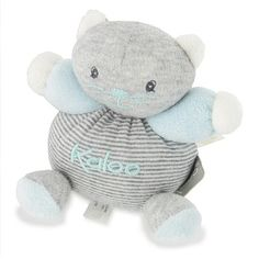 Kaloo Zen : Mini Patapouf : Chat gris à rayures - Kaloo-962737-5 prix promo 6.78euro