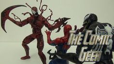 Carnage Marvel Select Toy Review