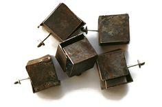rusted iron pins   Claudia Rinneberg