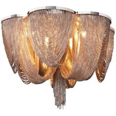 "hello drama! // Maxim Chantilly 18"" Wide Flush Mount Ceiling Light"