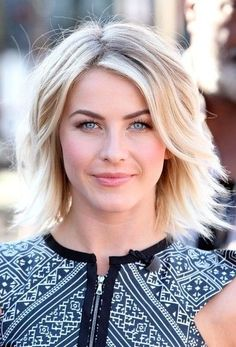 Julianne Hough Short Haircut - Sexy Layered Short Hairstyle for Thick Hair.  Love the cut and color