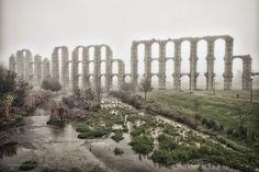 Acueducto de los Milagros, Mérida, Extremadura. by Jose María Colomo, via Flickr