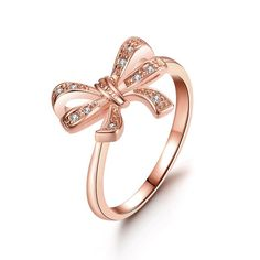Plated Love Knot Ring, Women's