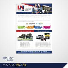 Cartaz – LN Consórcio & Negócios > Desenvolvimento de cartaz para empresa LN Consórcio & Negócios < #cartaz #marcasbrasil #agenciamkt #publicidadeamericana
