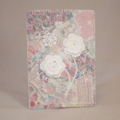 Gadget Phone Case  Pink patchwork and lace  by Lynwoodcrafts, £16.00
