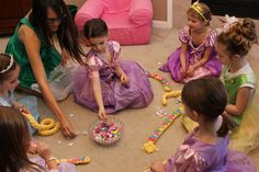 Rapunzel birthday party | the paquettes