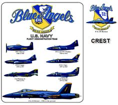 Blue Angels, US NAVY flight demonstration team