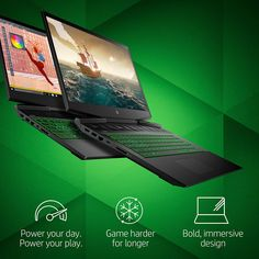 HP Pavilion Gaming 15-Inch Micro-EDGE Laptop - Altech.electronics 💻 Laptop Deals, Latest Games, Dim Lighting, Hp Pavilion, Windows 10, Computer Accessories, Overwatch, Quad