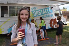 Kids Obstacle Challenge Smoothies!  #smoothietruck #kidsobstaclechallenge #kidsfitness #kidslife