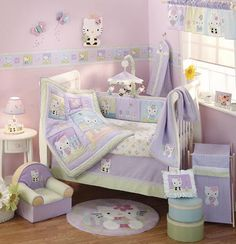 Hello Kitty Nursery Decor
