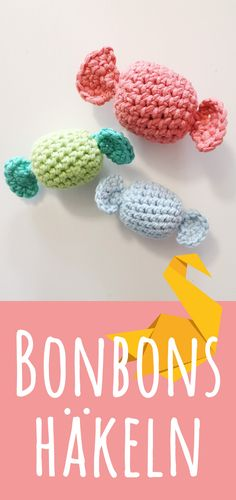 Handmade Bracelets, Knit Crochet, Crochet Necklace, Knitting, Sewing, Pretty, Kindergarten, How To Make, Candy