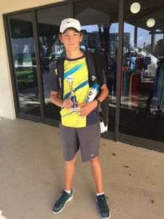 Congratulations to Marko Janus for winning the boys' 14 KL Tennis Tournament in West Palm Beach, Florida! Unseeded Marko beat the number 1 seeded player in the semi finals is straight set and went on to win the final 6/2 6/0. Well done Marko! Way to kick off 2018!  #MarkoJanus #JohanKriekTennisAcademy #JKTA #teamJKTA #JKTAplayer #elitetennisacademy #Florida #tennis #trainingwithrealchampions
