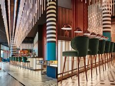 Bar design Visual Merchandising, Hotel Coupons, Pullman Hotel, Design Furniture, Plywood Furniture, Chair Design, Modern Furniture, Chicago Hotels, Hotel Safe