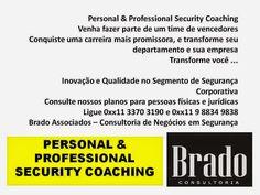 PALESTRAS SOBRE SEGURANÇA E GESTÃO DE RISCOS: PERSONAL & PROFESSIONAL SECURITY COACHING