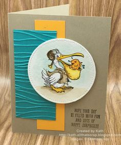 Created By Kath: Postcard Pals- Pelican