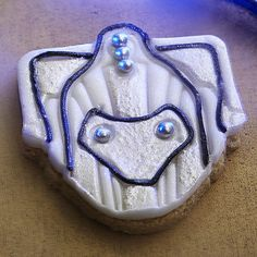 K9 and Cybermen Cookie Cutters - From Lakeland