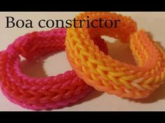 Monster Tail BOA CONSTRICTOR Bracelet. Designed and loomed by Cheryl Mayberry. Click photo for YouTube tutorial. 04/19/14.