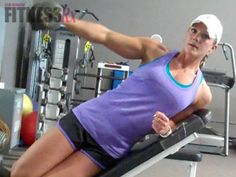 Nicole Wilkins - 2 Unique Shoulder Exercises - Challenge your delts with these switch-ups