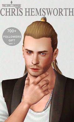 Chris Hemsworth - The Sims 3 Journal