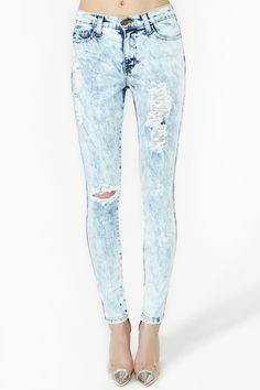 Acid Burn Skinny Jeans