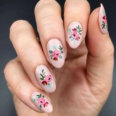 40 Fresh Spring Nail Art Ideas to Inspire YouBeautiful Spring Nail Art Designs Trends Everyone needs to appear their best now of the year, They're some nice spring nail concept can leave you feeling prepared for any price.Spring nails are that final Cute Spring Nails, Spring Nail Colors, Spring Nail Art, Summer Nails, Cute Nails, Easter Nail Designs, Easter Nail Art, Nail Designs Spring, Nail Art Designs