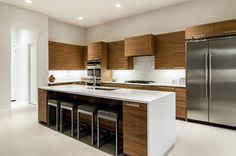 Azalea Lane, Residence modern kitchen