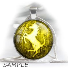 """Vintage colorful horse silhouettes - printable bottle cap images -1'' circles 25mm, 30mm, 1.25"""" 1.5"""" rounds Digital Collage BUY 2 GET 1 FREE by BonCraft on Etsy"""