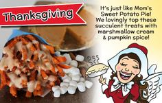 Thanksgiving Saints are the perfect snack for Black Friday! Sweet potato fries dressed up like pumpkin pie! French Fry Heaven, Marshmallow Cream, French Fries, Pumpkin Spice, Sweet Potato, Black Friday, Sweet Tooth, Saints, Thanksgiving