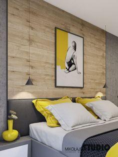 obicie ściany przy łóżku i nad łóżkiem bardzo fajne i funkcjonalne!