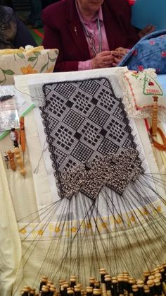 Picnic Blanket, Outdoor Blanket, Lacemaking, Bobbin Lace, My Love, Black, Home Decor, Lace Shawls, Lace Purse