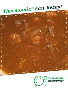 Gulasch Goulash from A Thermomix ® recipe from the main meat with meat category www.de, the Thermomix® Community. Ketogenic Diet Meal Plan, Ketogenic Diet For Beginners, Diet Meal Plans, Keto Meal, Goulash, Keto Foods, Keto Desserts, Low Carb Meal, Cena Keto