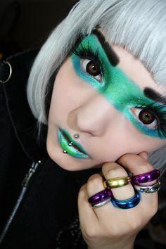 Galaxy makeup by RoseShock on DeviantArt