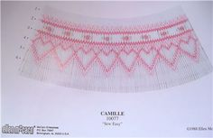 """Details about NEW Smocking Plate """"Camille"""" by Ellen McCarn"""