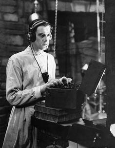 "Colin Clive as Doctor Frankenstein in ""Frankenstein"" (1931)"