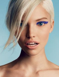 Sasha Luss shot by Patrick Demarchelier for Vogue Russia January 2014