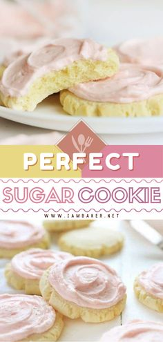On the lookout for the best Easter desserts? Sugar Cookie Recipe or Copycat Swig Cookie is amazingly delicious and always a hit at any gathering. Swirled with a perfectly smooth and creamy pink frosting, it's one of the best Easter treats for kids! Save this pin!