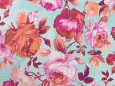 Camellia Printed Crepe Fabric