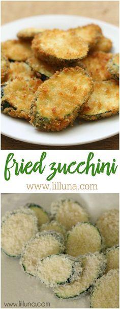 Fried Zucchini recip