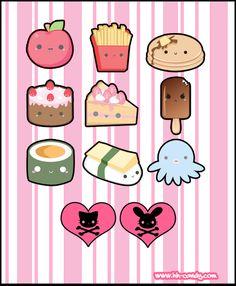 Cute Vector Designs 2 by A-Little-Kitty.deviantart.com on @deviantART