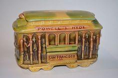 STREET CAR BANK POWELL & MASONIS SAN FRANCISCO ----Great Find!