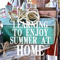 The summer is HOT.  Click here for some great ways to enjoy the summer even through the heat!