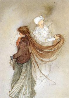 Lisbeth Zwerger scribbles