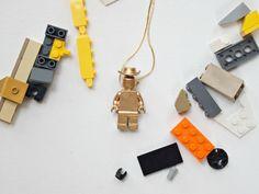 Gilded LEGO Minifig