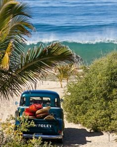 Old Truck on the Beach
