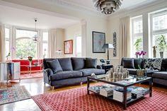 Mäklare i Stockholm, Göteborg, Malmö och Båstad - Skeppsholmen Fastighetsmäkleri Sotheby's Realty Room Inspiration, Decor, Furniture, Living Room Inspiration, Living Room, Relax, Home, Couch, Room