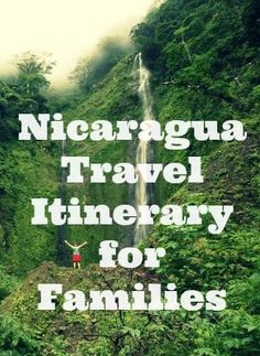 NOW is perhaps the perfect time to visit Nicaragua.  As my family gears up for an epic adventure through Central America, I thought I'd share some of the research I've been doing with regards the best Nicaragua travel itinerary for families.  #nicaragua #travelwithkids #familytravel #itinerary #ideas #wanderlust #inspiration #granada #ometepe #costarica