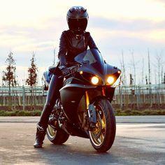 "motorcycles-and-more: "" Yamaha R1"""